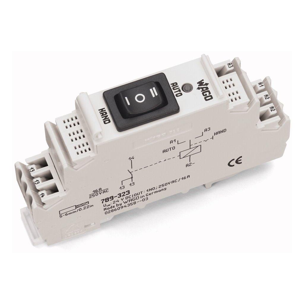 789 323wago Relay Module Dc24v 16a Dpdttsi Solutions Electrical For U Wago Dpdt