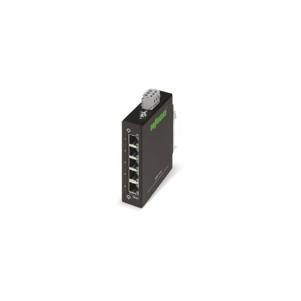 WAGO 852-111 Industrial-ECO-Switch; 5-port 100Base-TX
