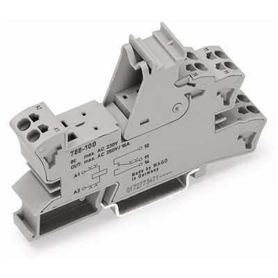 WAGO RELAY SOCKET ONLY-SCHRACK RP25