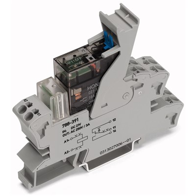 WAGO SPDT RELAY & SOCKET, 24VDC