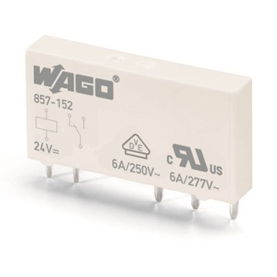WAGO RELAY 5MM 24VDC 1CO