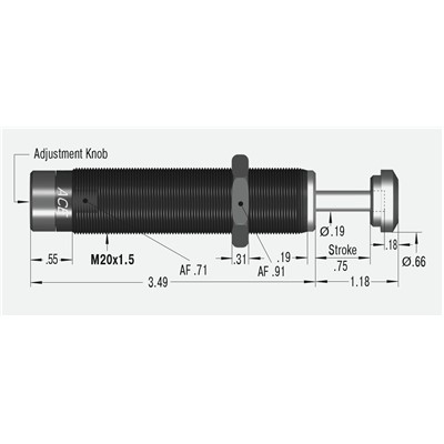 Ace Controls Shock Absorber