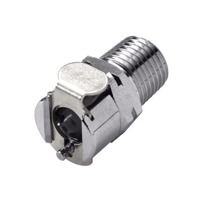 CPC 1/4 NPT Valved Coupling Body