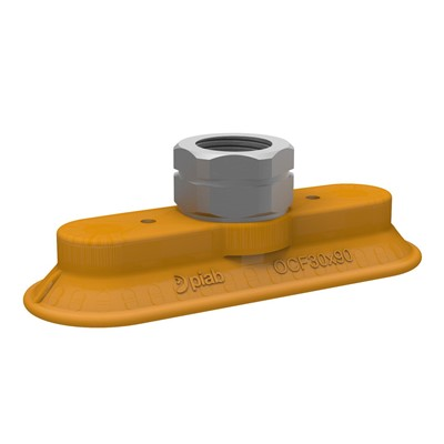 Piab Oval Flat Friction Vacuum Cup