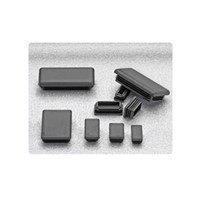 TSI Extrusions 1 x 1 IN. End Cap Black